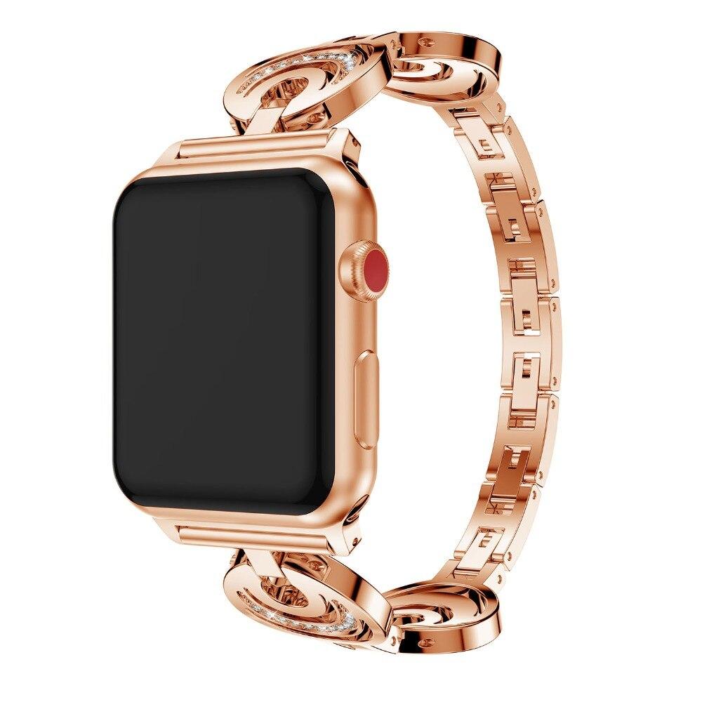 Ремешок для часов, из нержавеющей стали, для Apple Watch 1/2, 38/42 мм