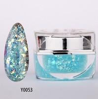 1pcs Nail Art UV Gel Nail Tips Phototherapy Fingernail Dismountable Phototherapy Glue UV Gel Y0053