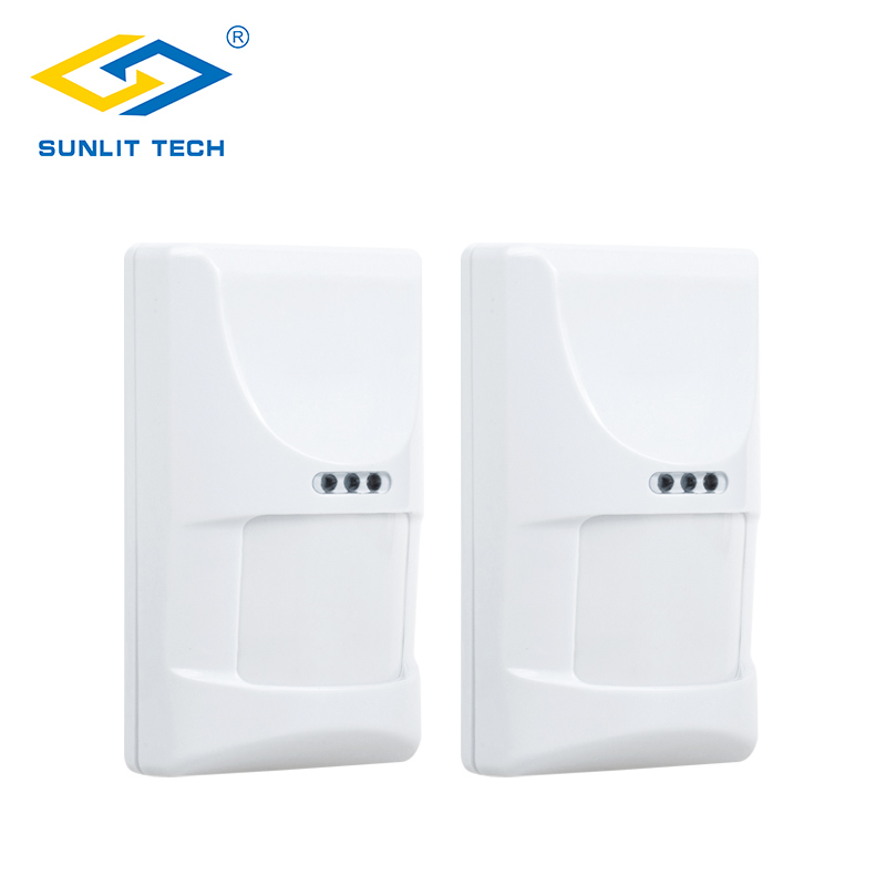 Sunlit Tech Indoor Pet PIR Sensor Wired Infrared Motion Detector sensor alarma for Home Burglar Security Protection Alarm System 2pcs lot wired indoor usage pet friend passive infrared motion sensor for wired burglar alarm system free shipping