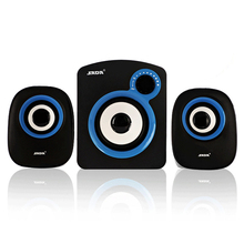 High Performance multimedia bass audio computer speakers usb 2.1 system with subwoofer Speaker for desktop laptop