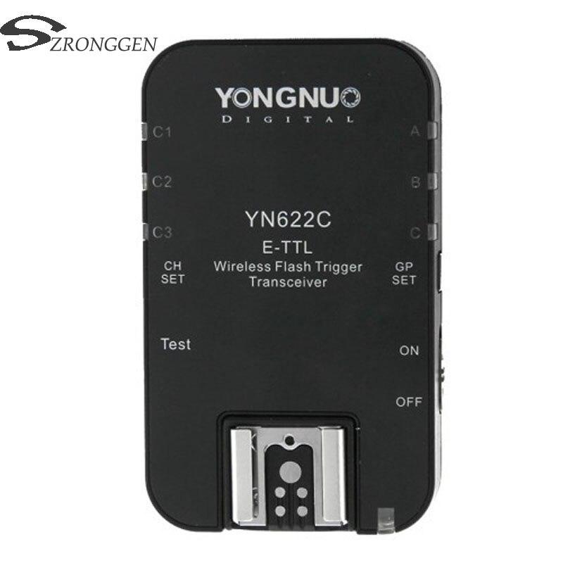 Yongnuo YN 622C YN 622 Wireless ETTL HSS 1 8000S Flash Trigger Transceiver for Canon 1100D