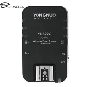 Image 1 - Yongnuo YN 622C YN 622 ไร้สาย ETTL HSS 1/8000S Flash Trigger สำหรับ Canon 1100D 1000D 650D 600D 550D 7D 5DII 40D