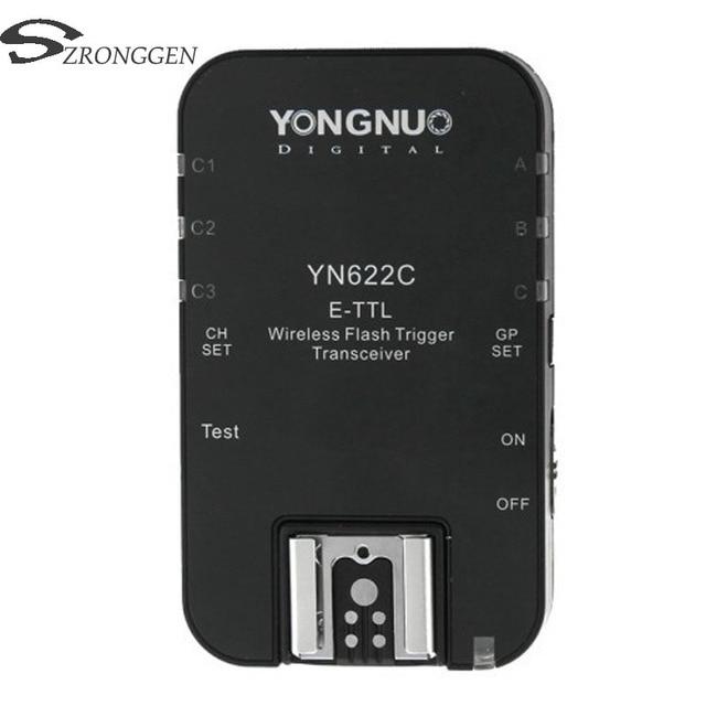 Yongnuo YN 622C YN 622 ไร้สาย ETTL HSS 1/8000S Flash Trigger สำหรับ Canon 1100D 1000D 650D 600D 550D 7D 5DII 40D