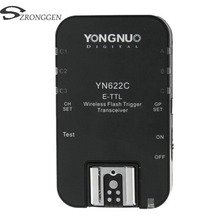 Yongnuo YN 622C YN 622 Wireless ETTL HSS 1/8000S Flash Trigger Transceiver for Canon 1100D 1000D 650D 600D 550D 7D 5DII 40D