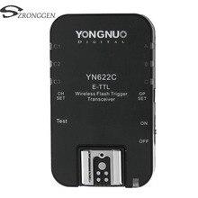 Yongnuo disparador de Flash inalámbrico, YN 622C YN 622, ETTL, HSS, 1/8000S, transceptor para Canon 1100D, 1000D, 650D, 600D, 550D, 7D, 5DII, 40D