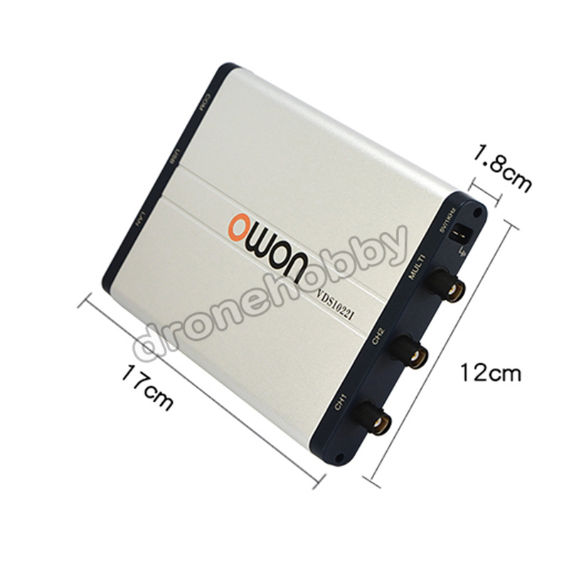 VDS1022I OWON Digital 100 MSa//s Oszilloskop USB SPEICHERUNG 25MHz Wellenform