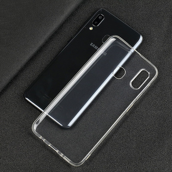 100PCS/LOT.wholesale Ultra Thin Soft TPU Transparent Silicone Clear Case Cover for Samsung Galaxy A10 A20 A30 A40 A20E