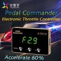 Авто электронный контроллер дроссельной заслонки Педаль газа Booster командир педали акселератора автомобиль для CHEVROLET CRUZE Все двигатели 2009 +