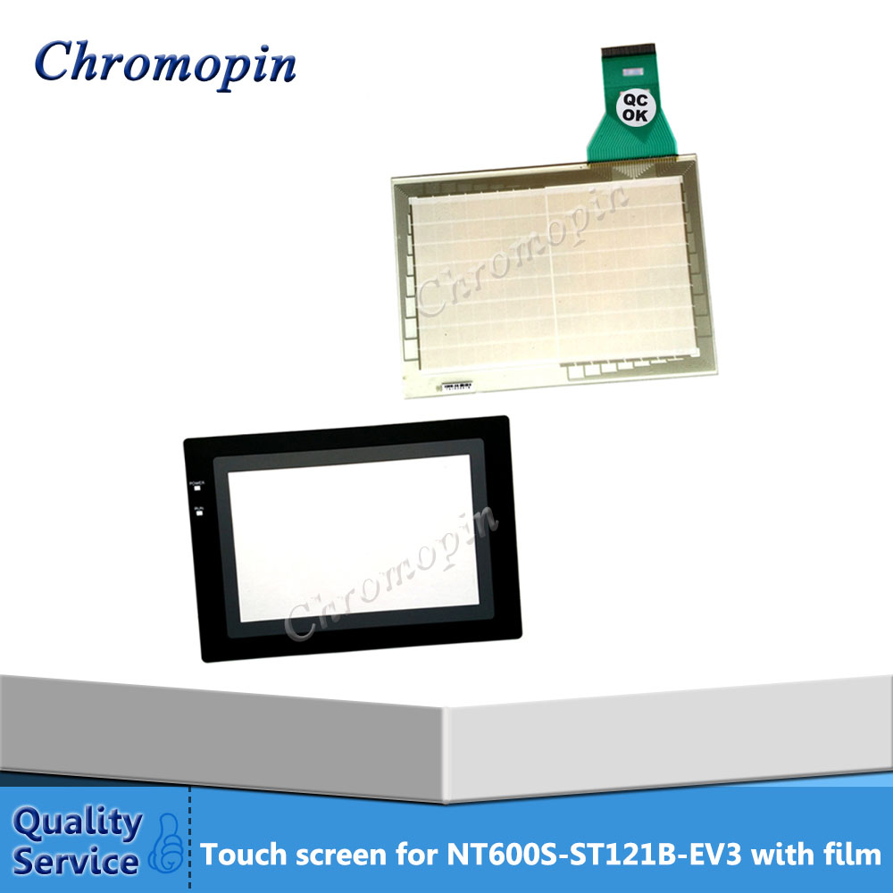 Touch screen panel for Omron NT600S-ST121B-EV3 NT600S-ST121B-V3 NT600S-ST211B-EV3 with Protective film touch panel for omron nt631c cfl01 nt631c cfl02 nt631c kba05 nt631c kba05n