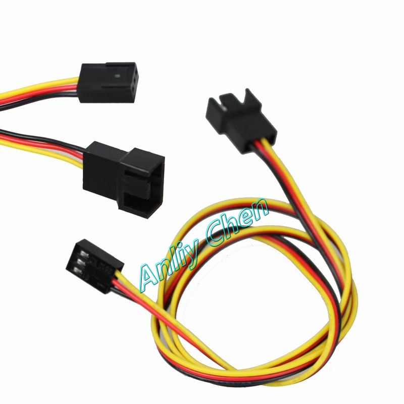 10 Pieces LOT 12V 3Pin Male to 3Pin Female Fan Power Extension Lengthen Cable Wire 10 pieces lot gt50j301 to 264 igbt600v
