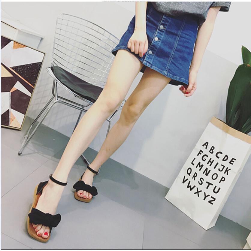 mokingtop womens summer Women Flat Causal Bohemia Leisure Lady Sandals Peep-Toe Outdoor Shoes ##