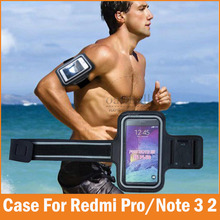 Sports GYM Running fundas For Xiaomi Redmi Pro Case 5.5 Waterproof Jogging Arm Band Phone bags Redmi Note 3 2 Cover Accessories