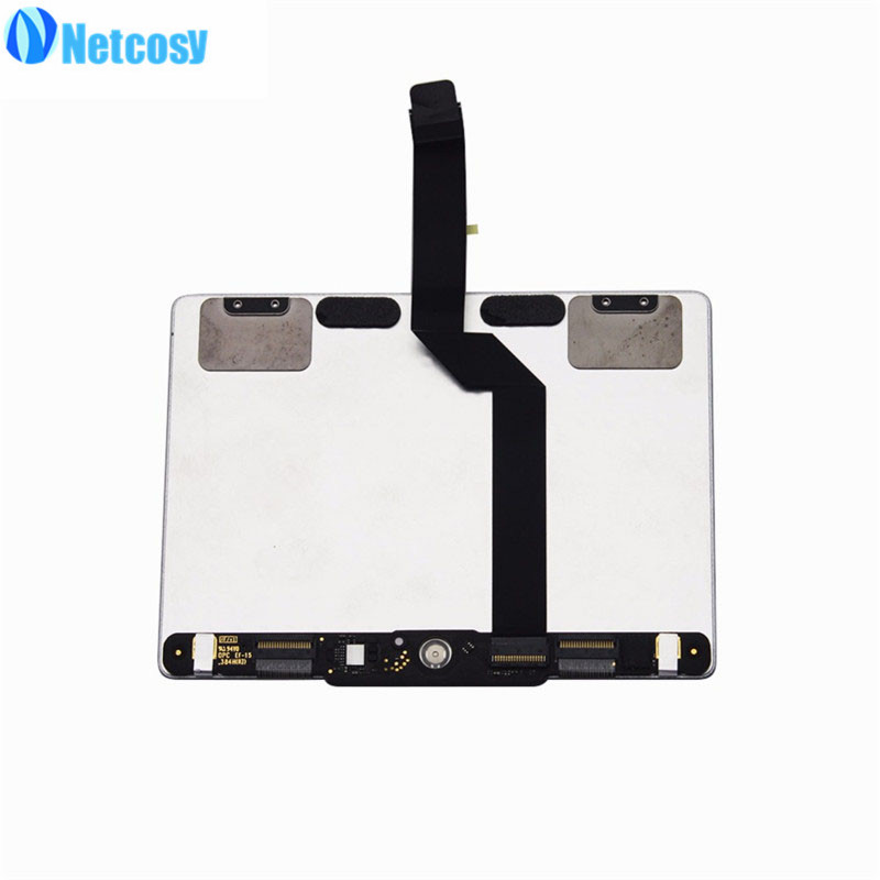 Netcosy For Macbook A1502 New Sliver Trackpad Touchpad Touch Panel For Macbook Pro 13 Retina A1502 2013 2014 Laptop new silver for macbook pro retina 15 4 a1707 force touch pad touchpad trackpad