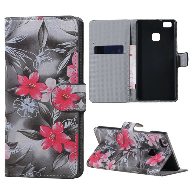 case For Huawei P9lite cover Wallet  Cover Case sFor Flip Huawei Ascend P9 lite VNS-L21 VNS-L31 VNS L21 L31 L22 L23 Phone cases
