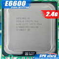 Intel Core 2 Duo E6600 CPU 2.4G Processor (  2.4Ghz / 4M /1066GHz) Socket 775 free shipping