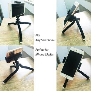 Image 5 - DUSZAKE P16 Flexible Gorillapod Tripod For Phone Bluetooth Mini Tripod for iPhone Phone Tripod with Holder Remote Contral