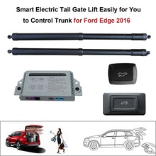 Smart Auto Electric Tail Gate Lift for Ford Edge 2016 Control Set Height Avoid Pinch smart auto electric tail gate lift for hyundai ix35 control by remote drive seat tail gate button set height avoid pinch