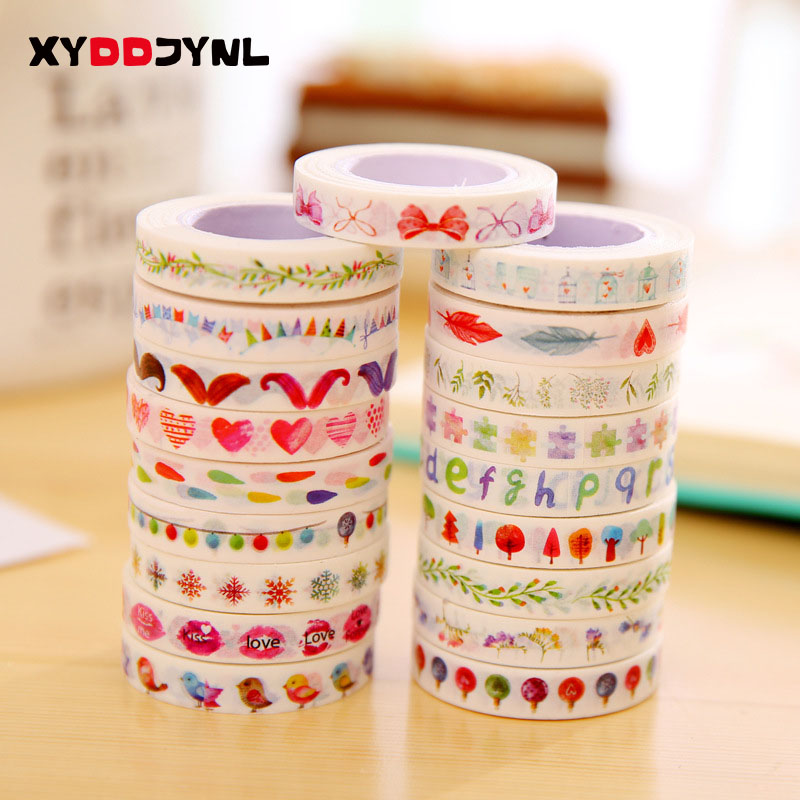 80mm*10m Kawaii Washi Tape Cute Scrapbooking DIY Decoration Adhesive Label Can Write Stickers Stationery black agate bead bracelet 17cm