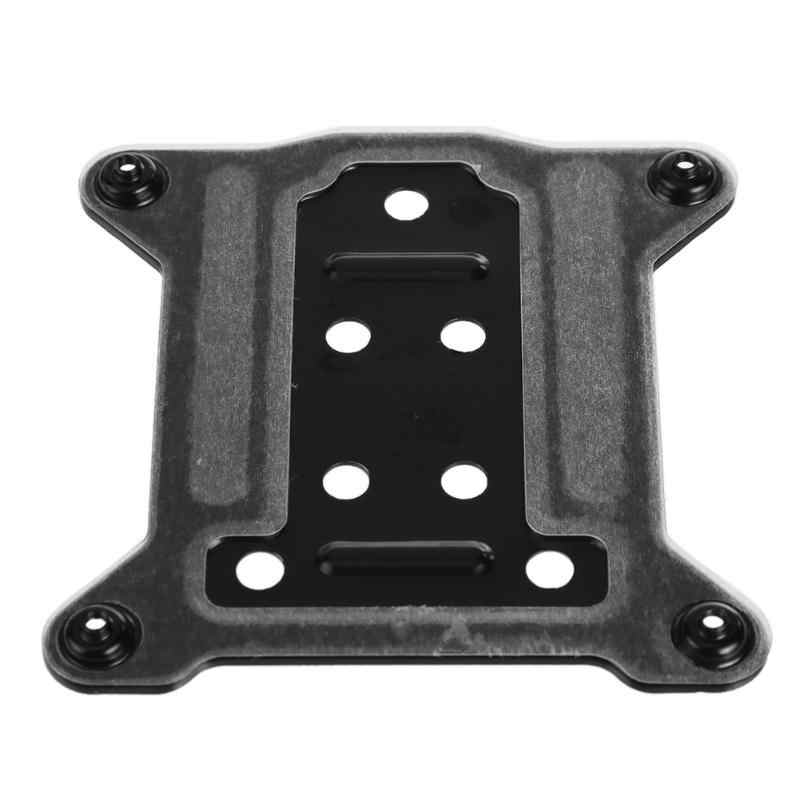 "75x75 מ""מ מעבד מתכת סוגר עבור LGAL 115X/1150/1155/1156 pc Backplate I3 I5 i7 קירור רדיאטורים Backplane"