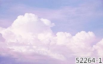 Pink Sky Cloud 3d Cartoon Wallpaper Murals for Girls Room