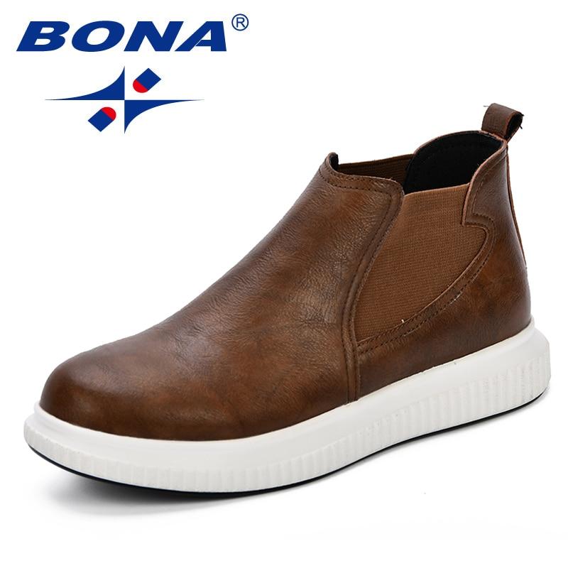 FOI Microfibre En Cuir Hommes de Casual Chaussures Noir Brun Hommes Appartements Fabriqués À La Main Hommes Richelieus Confortables Zapatos Hombres À La Mode Hommes chaussures
