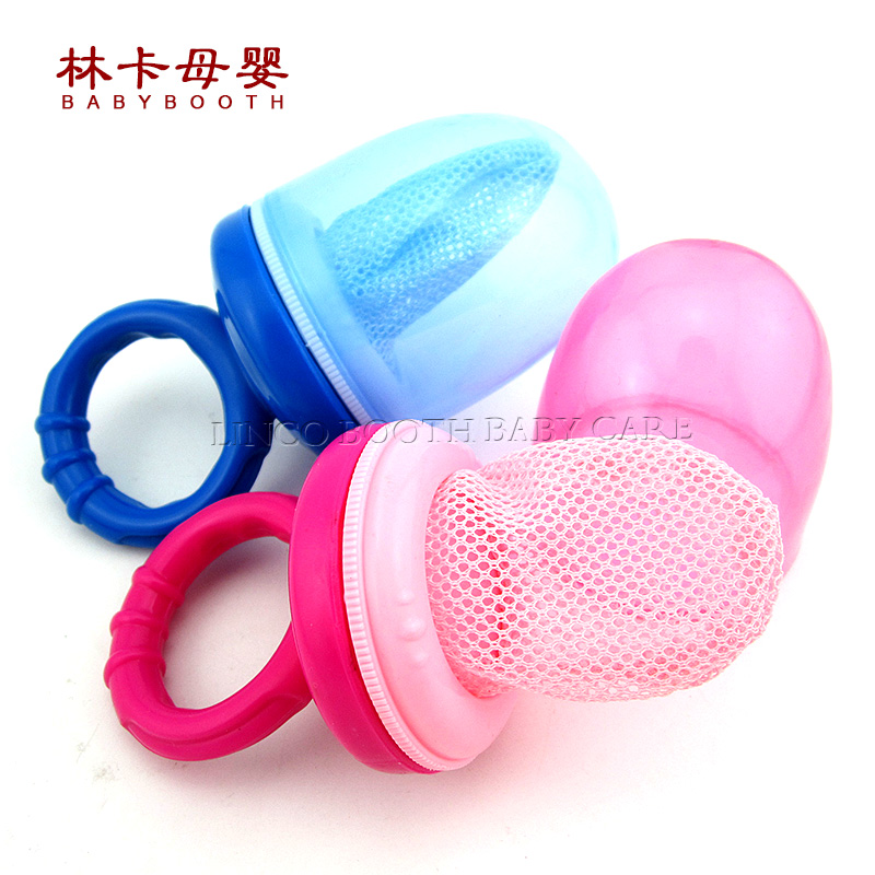 New Nipple Fresh font b Food b font Milk Nibbler Feeder Feeding Safety Silicone Baby Chew