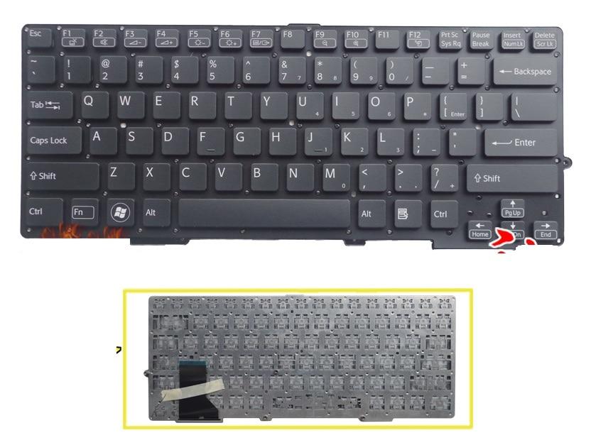 SSEA Brand New US Keyboard black for Sony VAIO SVE-13 SVS13 SVS1311 SVS131 SVS13118 without frame laptopSSEA Brand New US Keyboard black for Sony VAIO SVE-13 SVS13 SVS1311 SVS131 SVS13118 without frame laptop