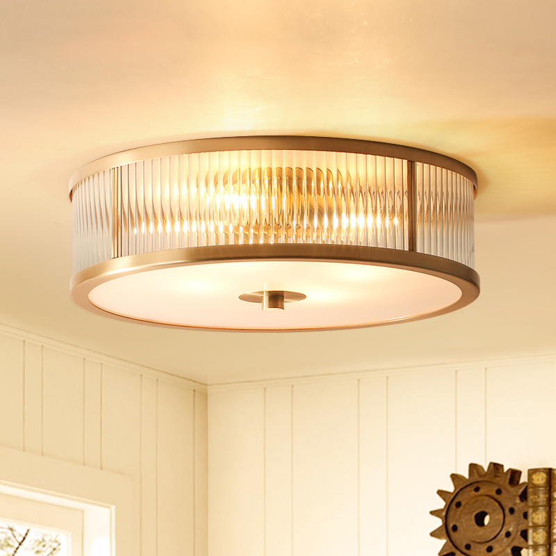 Modern Copper material Ceiling light For Living Room ...