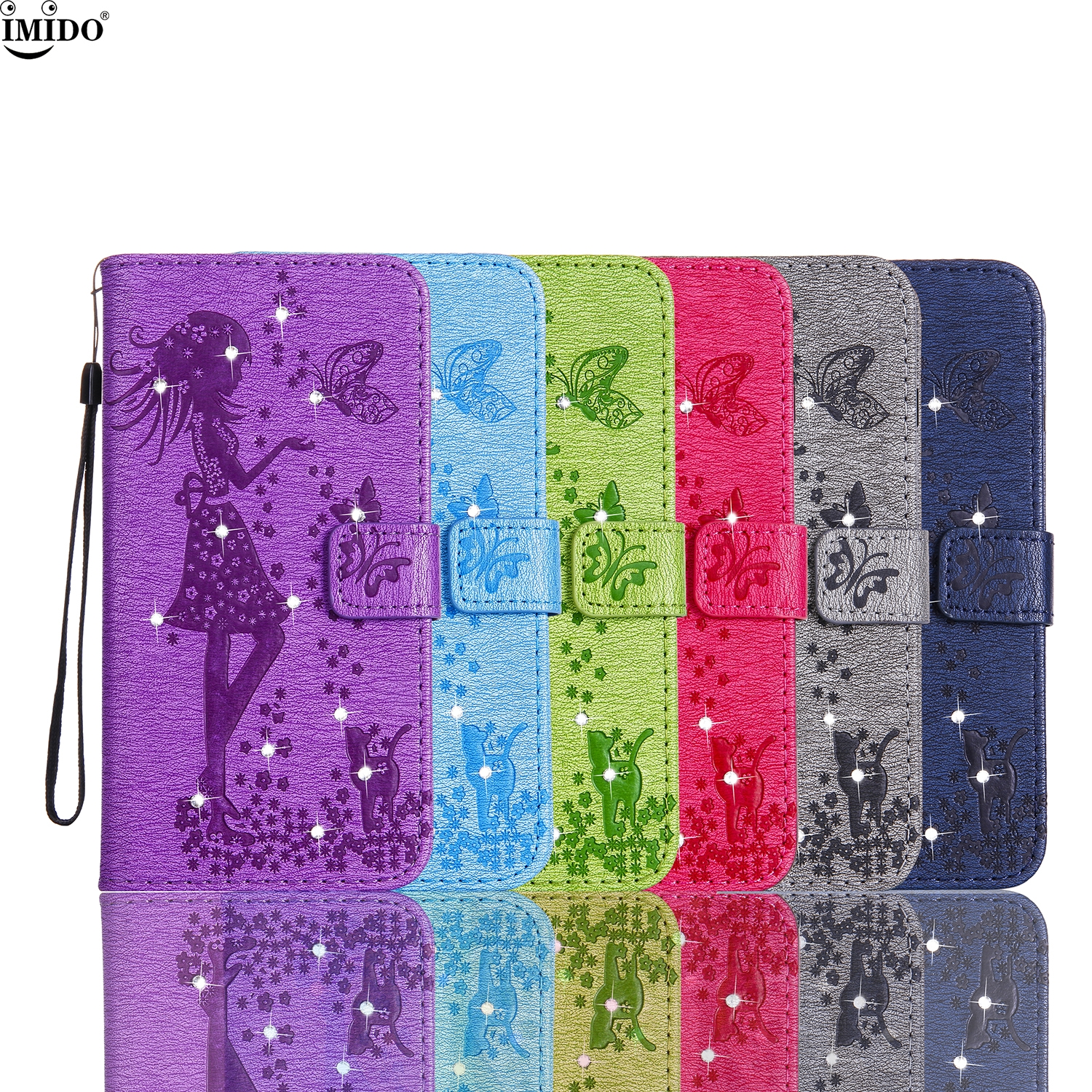 A320FL Case box For Galaxy A320 A3 2017 A320F/DS Cover Rhinestone Flip wallet Case for SamSung A3 2017 SM-A320FL A310F Case Capa
