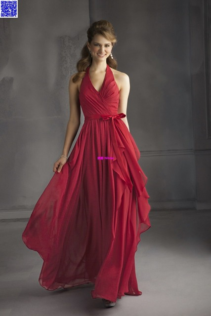 Nitree Cheap Crimson Bridesmaid dress Party Gown Fashion Collection Unique  Sexy Luxury Designer Celebrity Romantic Spring 2015 ba294aef697c