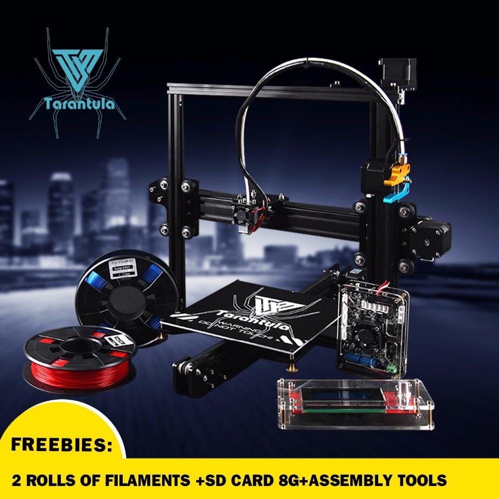2017 Newest TEVO Tarantula Prusa i3 3d printer 3D Printer DIY kit impresora 3d printer Free