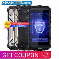 IP68 eau DOOGEE S60 Lite sans fil Charge 5580mAh 12V2A Charge rapide 5.2 ''FHD MT6750T Octa Core 4GB 32GB Smartphone 16.0MP Cam