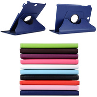10 Colors For Samsung Galaxy Tab A 9 7 T550 T555 PU Leather 360 Rotating Stand