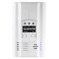 Carbon Monoxide Propane LPG LNG Gas Leak Sensor Warning LED Warning Light Alarm Detector Tester Home