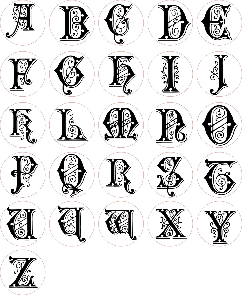 The Letter A In Different Styles 35018 Loadtve