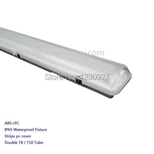 T8 Double Light Fixture: Aliexpress.com : Buy Double T8/T10 Tube Fit 60cm/2ft IP65