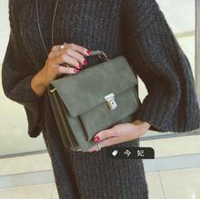 Mode neue handtaschen Hohe qualität PU leder Frauen tasche Retro matt tragbare umhängetasche Freizeit wilden Messenger Weiblichen beutel
