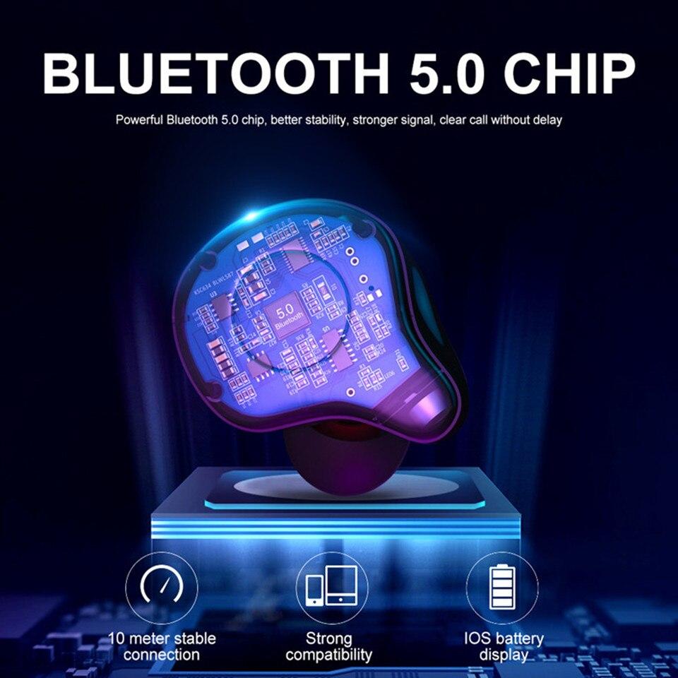 Sabbat E12 Pro Bluetooth 5 0 TWS Wireless HIFI Monitor Noise Isolation  In-ear Running Earphone Wireless Charging Box X12 Upgrade
