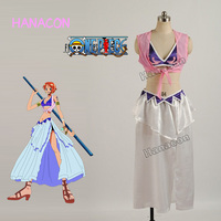 One Piece Nami Cosplay Costume Nami Dress Costume Cosplay Girl Sexy Dresses Skirt Outfit Halloween Hot
