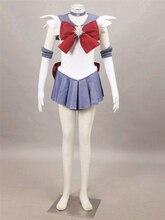Сейлор Мун Сейлор Сатурн косплей костюм Halloween dress аниме Бесплатная Доставка на заказ первой серии