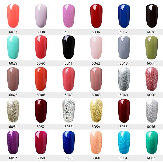 Elite99 Einen Schritt UV Gel Lack Nagellack KEINE Notwendigkeit Basis Top Mantel Maniküre Gellak Semi Permanent Nail art Reine farbe Gel Lack