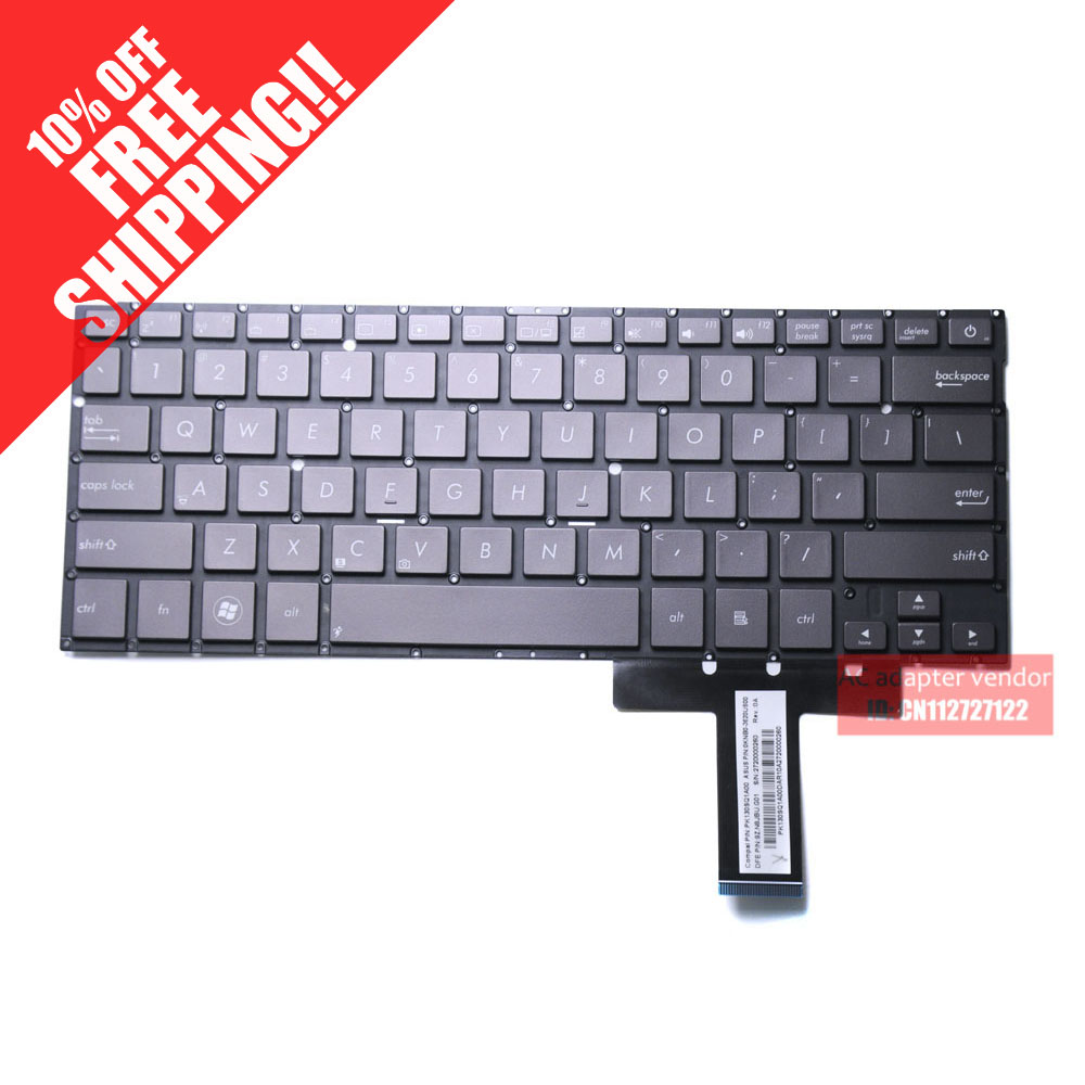 все цены на New Replacement FOR Asus UX31 UX31A UX31E UX31LA US English version keyboard brown color
