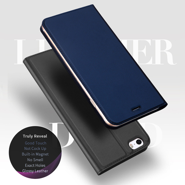 cheap for discount 07d04 af513 US $8.31 35% OFF|PU Leather Flip Case for iPhone 5S Case Silicone Coque  Magnetic Folding Stand Cover Case for iPhone 5 5s SE Flip Cover Phone  Bag-in ...