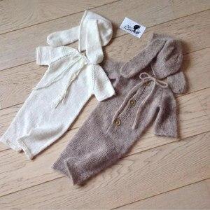 Image 3 - יילוד romper צילום אבזרי, מינק חוט בגד גוף לתינוק אבזרי צילום