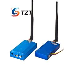 1 2G 8W 4CH Wireless Audio Video AV Transmitter Receiver Transceiver Telemetry Set