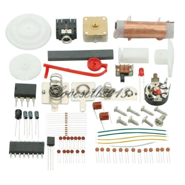 Juego de radio AM / FM estéreo AM, kit de producción electrónica, bricolaje, CF210SP, 1 unidad