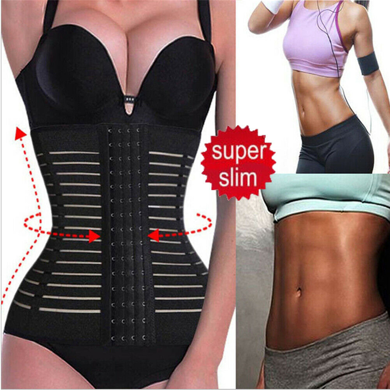 M-3XL-Waist-Trainer-Breathable-Firm-Women-Body-Shaper-Plus-Size-Slimming-Belt-Solid-Black-Skin(1)