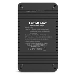 Image 4 - Liitokala Lii 500 Lii PD4 LCD 3.7V 18650 18350 18500 21700 20700B 20700 14500 26650 AA NiMH ליתיום סוללה מטען