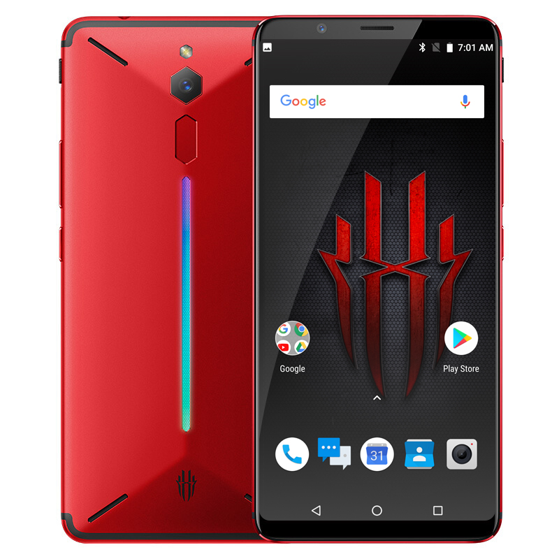 Nubia Red Magic Snapdragon 835 Octa Core 6.0 inch Android 8.1 Gaming Phone 8GB RAM 128GB ROM 2160*1080P 24.0MP Fingerprint