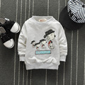 Baby Toddler  Tops  Fashion  Audel Cotton Sweatershirt Long Sleeve Tshirts Winter Bottoming Shirt 60-90cm Baby Clothes G126